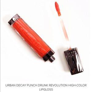 NWT Urban Decay Punch Drunk Revolution Lip Gloss